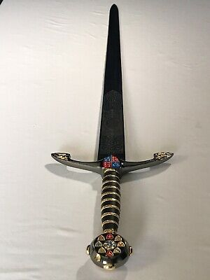 "44"" King Arthur Excalibur Medieval Longsword Sword & Sheath '"