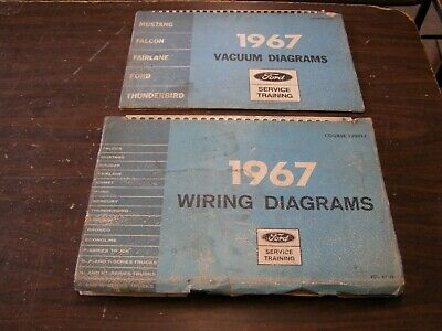 Oem Ford 1967 Vacuum Diagram Book Mustang Falcon Fairlane Galaxie Shop Manual 95 20 Picclick