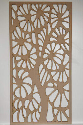 Radiator Cabinet decor. Screening Perforated 3mm & 6mm thick MDF laser cut DK2