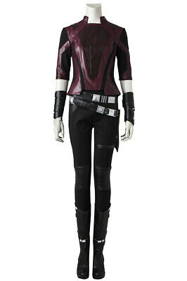 Guardians of The Galaxy 2 Gamora Full set Cosplay Costume Halloween +Shoes