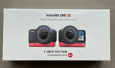 """Brand New Insta360 One R 1-Inch 1"""" Leica Edition Action Camera - Factory Sealed"""