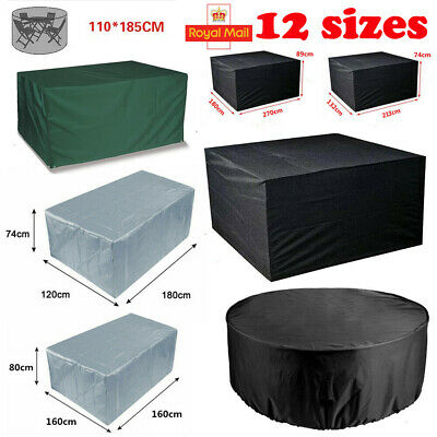 Large Waterproof Garden Patio Furniture Covers Rattan Table Cube Outdoor 12 Size