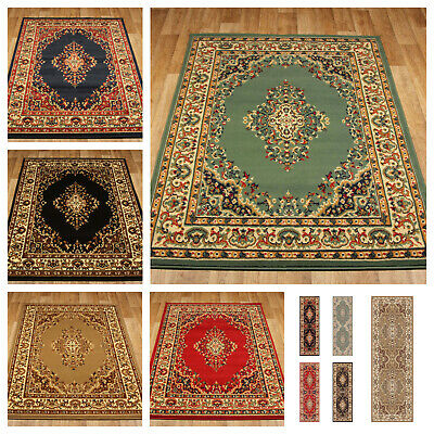 Large Rugs & Runners, Traditional Contemporary Designs, Stain Resistant, Keshan