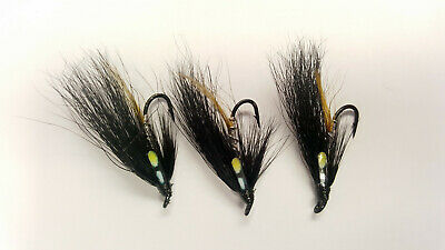 3 x BANN SPECIAL SINGLE HOOK SALMON FLIES Sizes 8,10,12  Available