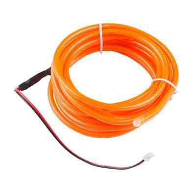Bendable El Wire Orange 3M