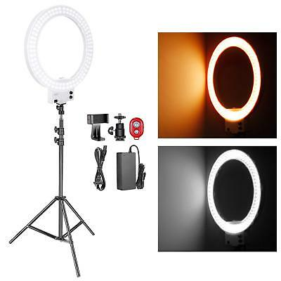 Neewer Kit Of Lighting 50W 18 Inch LED Ring Light White 32000-5600K