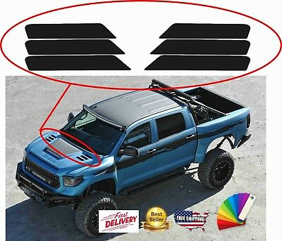 INSERTS VENT DECALS STICKERS for hood fenders 2010-2017 DODGE RAM 2500 3500 HD