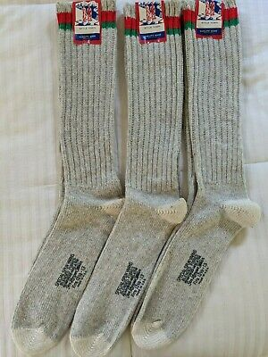 Vintage Style Town Thick Wool Blend Boot Socks Mens Sz 12 1/2- 13