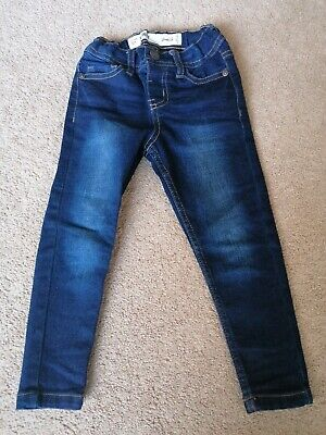 Denim Co Primark Boys Skinny Jeans Dark Blue Size 2-3 Years Worn Once