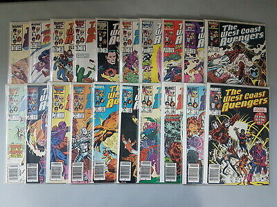 Very Good Marvel The West Coast Avengers Annuals Issues Between 1 /& 53