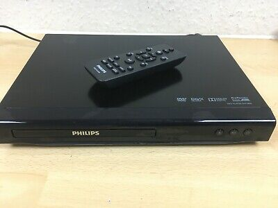Original Philips DVP2800 DVD Player - Black With Remote