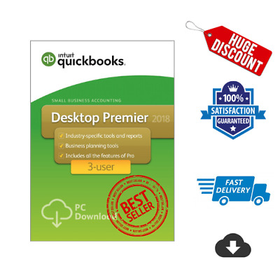 QuickBooks Premier Accountant Edition 2018⚡Lifetime License Key⚡Fast Delivery⚡UK