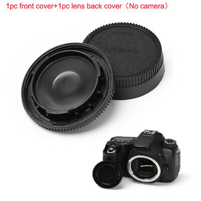 Camera Accessory Body front cover + lens back cover Front And Rear Lens Cover