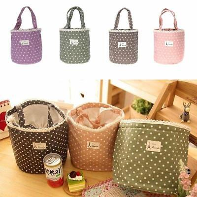 Childrens Kids Lunch Bags Insulated Cool Bag Picnic Bag School Lunch Box N3
