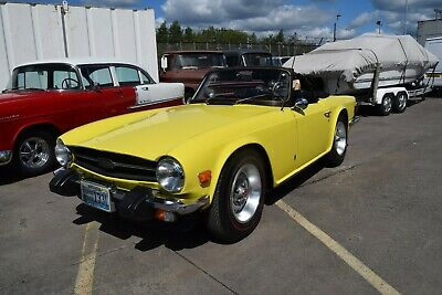 1974 Triumph TR6, California import, fully registered and roadworthy.