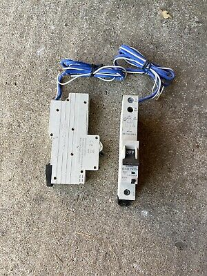 MK Sentry 07937s 40Amp Single Pole Type B 6kA 30mA 230v RCBO New But No Box