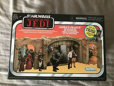 Star Wars The Vintage Collection Jabba's Palece Exclusive playset