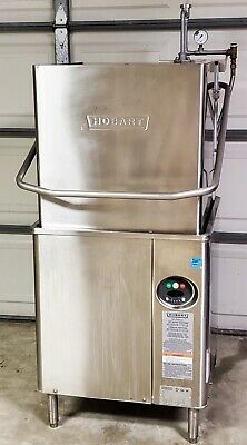 Hobart Am15 With Booster Heater  Commercial Dishwasher High Temp