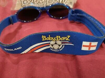 Baby bands sunglasses blue England 0-12 months