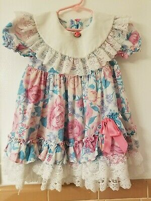 BEAUTIFUL vintage Girl Dress size 3 to 4t???? Floral
