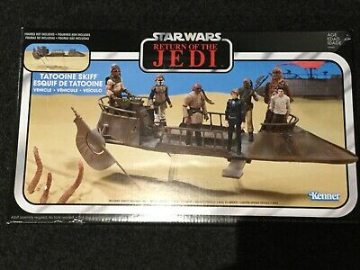 """Star Wars The Vintage Collection Tatooine Skiff Vehicle for 3.75"""" Figures ROTJ"""