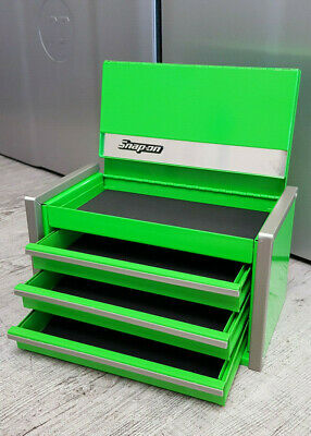 Snap-On Tool Box Miniature staionary bottom Cabinet In PINK NIB 5 drawers !!!!!!