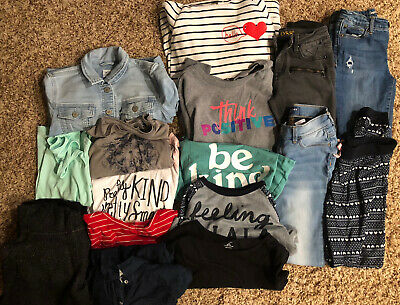 16 Piece Lot of Girls clothes size 10/12