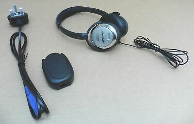 Bose QC3 Wired Over-Ear Active Noise Cancelling Headphones with Charger