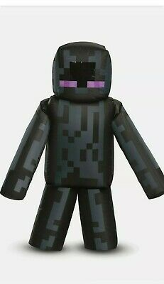 Inflatable ENDERMAN Minecraft Halloween Costume Boys ONe Size Fits Most FAN