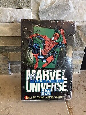 1992 Marvel Universe Series 3 FACTORY SEALED BOX 36 Packs NEW FROM CASE