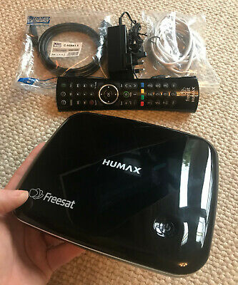 Humax HB-1100S Freesat HD TV Receiver 200+ Channels & On Demand (USB Recording)