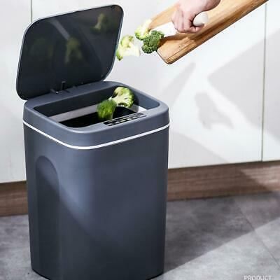 Smart Trash Can with Cover Fully Automatic Garbage Bin