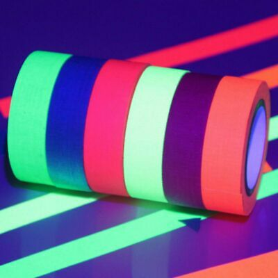 Glow In The Dark Luminous Fluorescent Self-adhesive Safety Sticker Tape .u