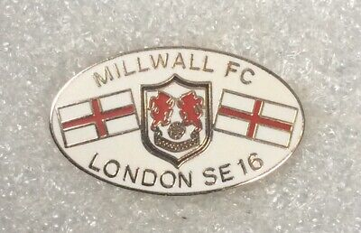 millwall football club lapel badge the lions the den a