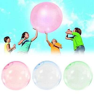 30-70cm Durable Bubble Ball Water Balloon Inflatable Kids Toys Soft Glue Outdoor