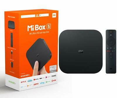 Mi Box S Xiaomi Original - 4K Ultra HD Android TV with Google Voice Assistant ..
