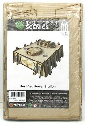 Si-Fi Gothic SFG037 Fortified Power Station great for 40K TTCombat