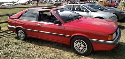 1987 Audi Coupe  1987 Audi Coupe Coupe Red FWD Manual