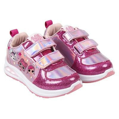 LOL Surprise Colour Changing Kids Shoes Trainers Sneakers Original Licensed L...