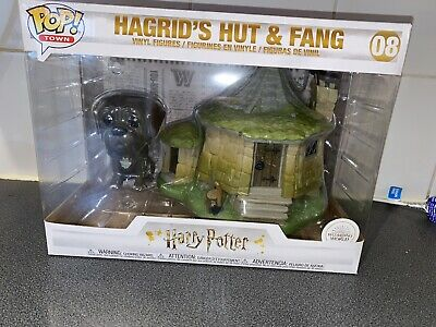 "TOWN Harry Potter 15cm /""Hagrid`s Hut /& Fang Vinyl Figur 08/"" Funko POP"