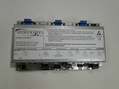 LUTRON HOMEWORKS H4-H48-120 Processor Series 4 Battery Replaced.