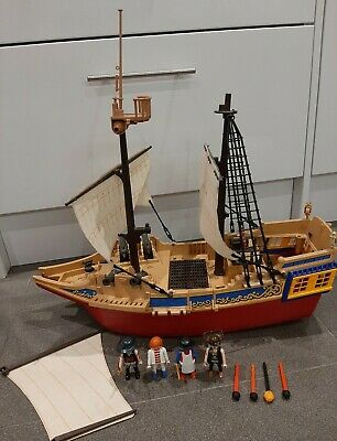 playmobil pirate ship 4290 spare parts service boat extras spares pirates