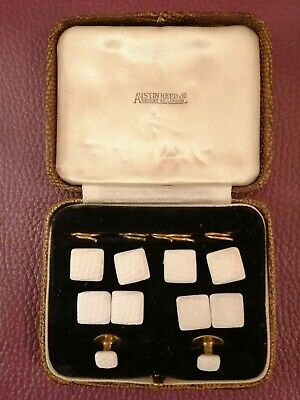 Vintage Austin Reed Ltd Regents St London Set Of Cufflinks Shirt Studs Boxed 44 49 Picclick Uk