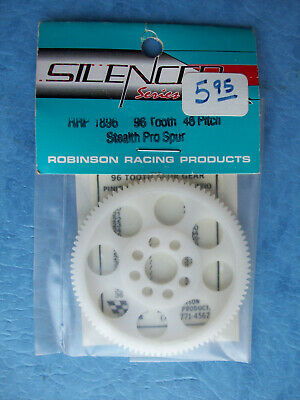 ROBINSON 2190 MOLDED SPUR GEAR 48P PITCH 90T TOOTH FITS ASSOCIATED RC10 RRP-2190