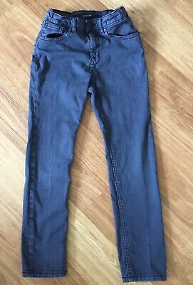 River Island ~ Boy's Grey/Black Slim Fit Jeans ~ Age 9 Years ~ great Condition