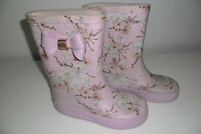 GIRLS PRETTY TED Baker Wellington Boots