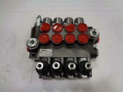 Chief 4 Way Directional Control Valve 4P40 S1Z1 A1A1A1D1 NEW BSIG1