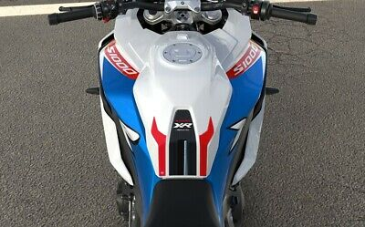 2 x 3D Motorcycle Tank Side Protectors Compatible with BMW S1000XR from 2020