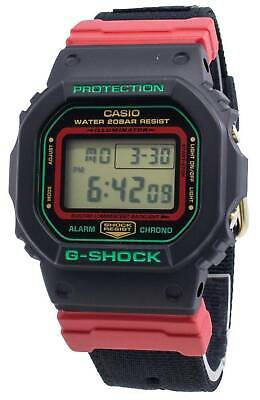 Casio Mens G-Shock Special Christmas Colors Cloth Band Watch DW-5600THC-1