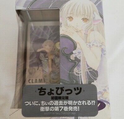 Chobits CLAMP Figure & Comic 7th First Limited Koudansha Japan Anime